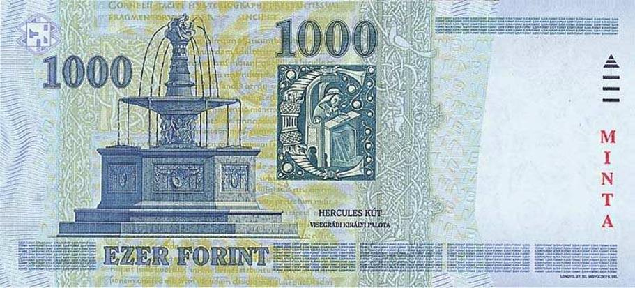 Hungarian Forint, HUF: Hungarian currency